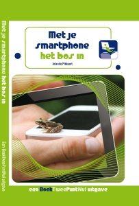 BoekTweePuntNul met je smartphone het bos in - omslag