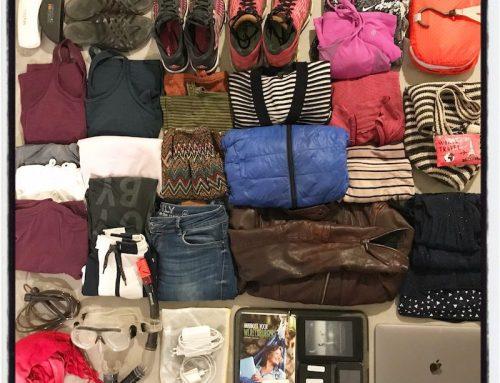 Reizen met weinig bagage – pak advies